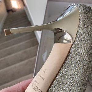 Jimmy Choo Shoes - Jimmy Choo Glitter Pointed Toe Pump